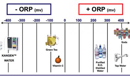 Consumo de Agua con ORP negativo